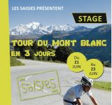 OFFER: RIDING IN JUNE-MONT BLANC TOUR WITH LES SAISIES